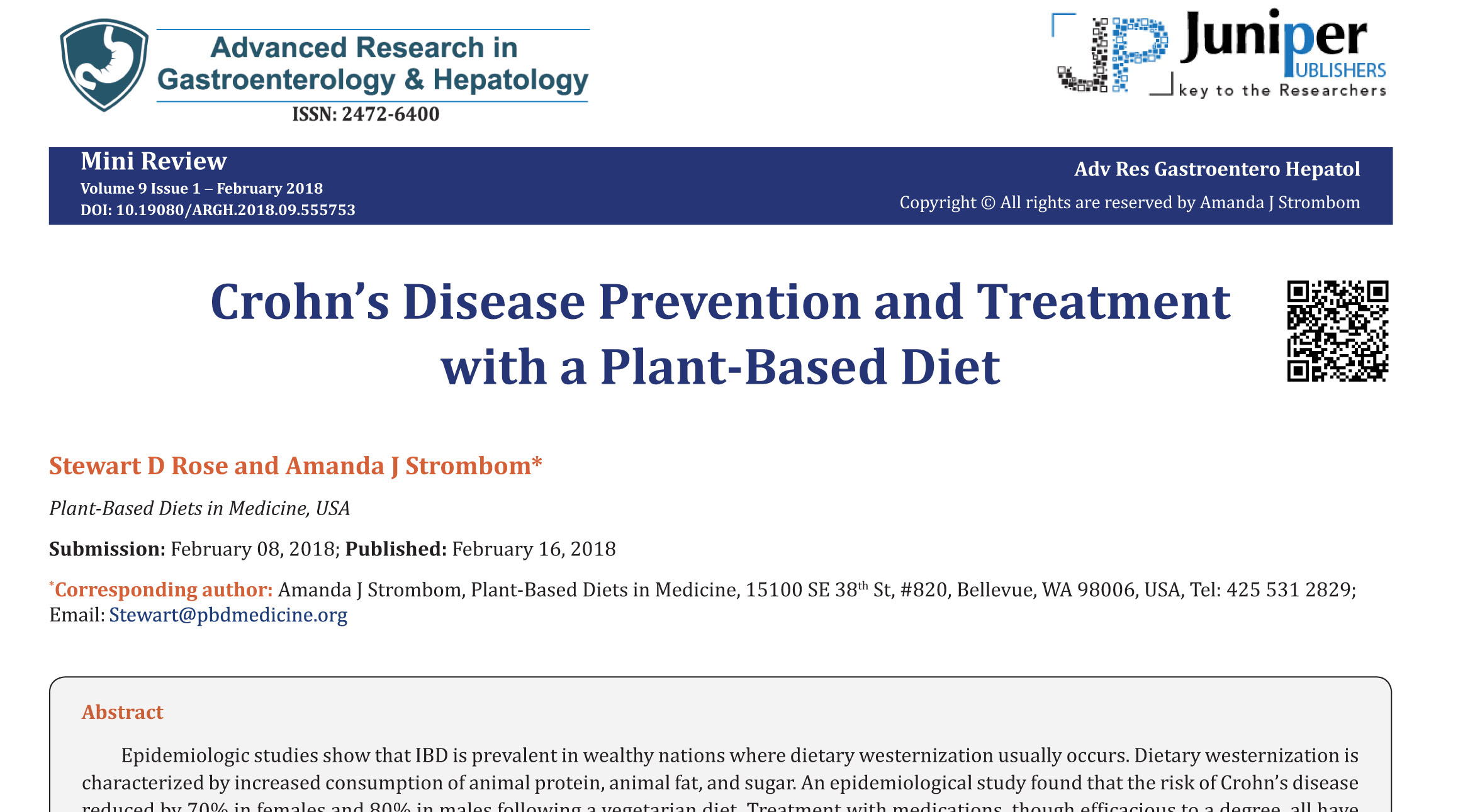 plant based diet and ulcerative colitis