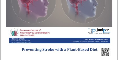 Image of 2 kinds of stroke, combined with header of published article
