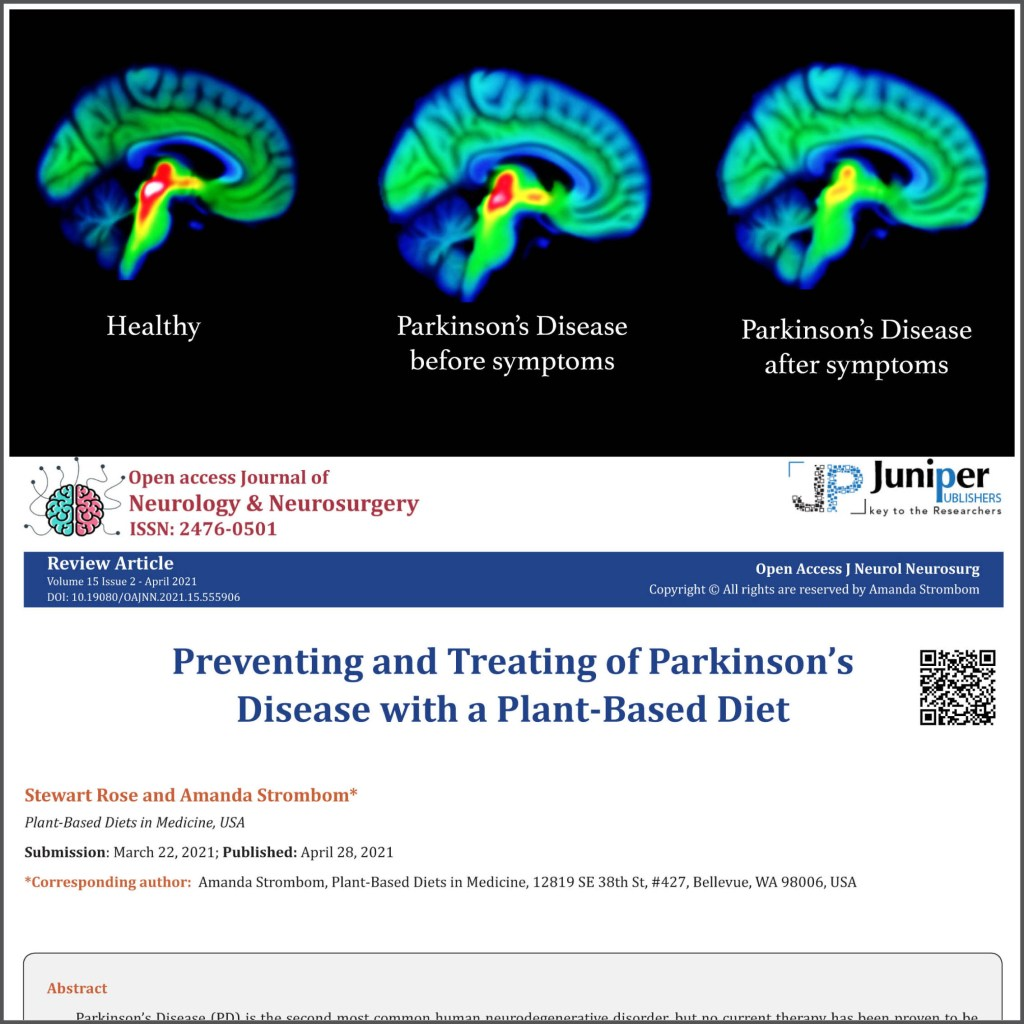 Image of brain scans combined with article header