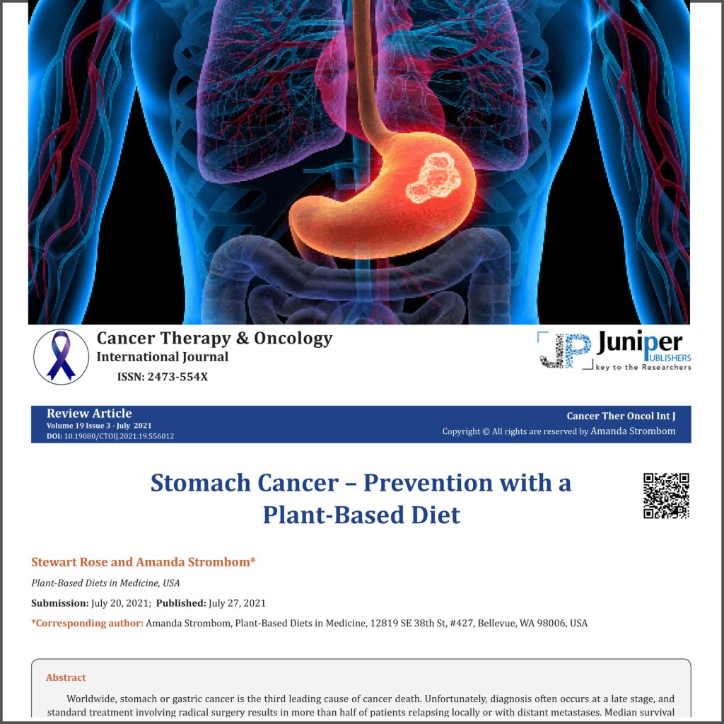 Image of stomach combined with article header